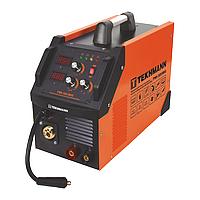 Сварочный инверторный полуавтомат Tekhmann TWI-305 MIG съемный рукав, 2 дисплея, возможность сварки без газа