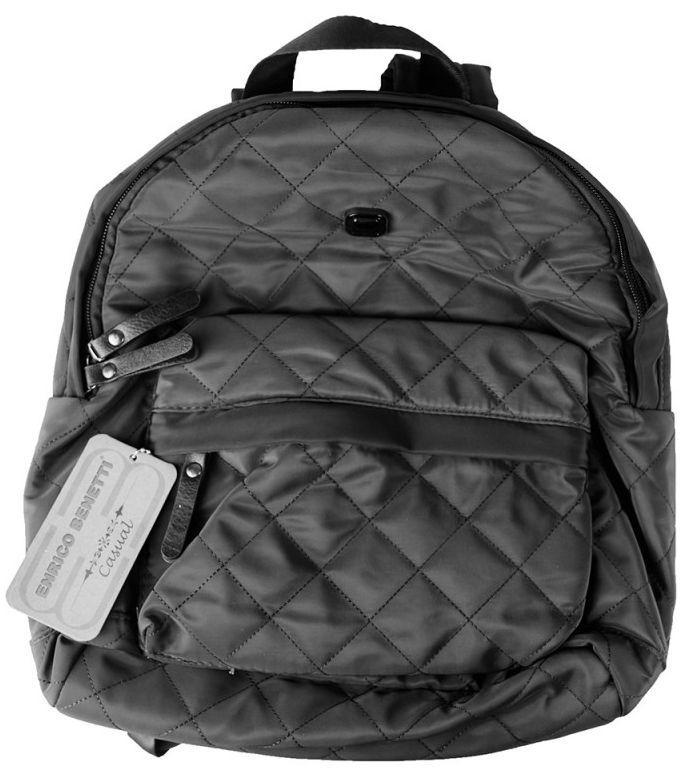 Городской рюкзак Enrico Benetti MELBOURNE Eb46100 001, 12л., черный