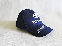 Бейсболка копия Тайота темно синяя, фото 1