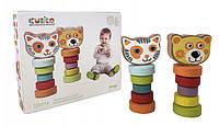 """Набор деревянных игрушек """"Гибкие животные"""" Cubika (13661)"""