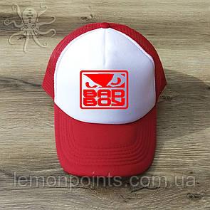 Кепка мужская спортивная Bad Boy K123 красная