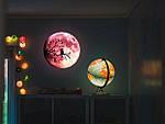 Люмінесцентна наклейка - Світиться місяць (30х30см), фото 2