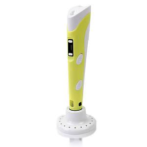 3Д ручка 3D Pen 2 RP100B c Lcd дисплеем желтый 142215