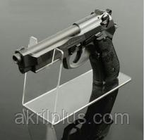 Держатель акриловый для пистолета