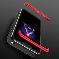 Защитный чехол бампер GKK 360 для Honor 10 Lite / хонор 10 лайт
