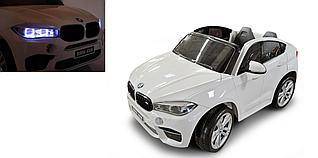 Детский двухместный электромобиль BMW Х6М JJ2168 на пульте, большой електромобиль БМВ