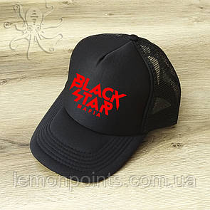 Кепка мужская спортивная Black Star K124 черная