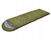 Спальный мешок SportVida SV-CC0012 Green/Grey