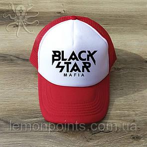 Кепка мужская спортивная Black Star K126 красная