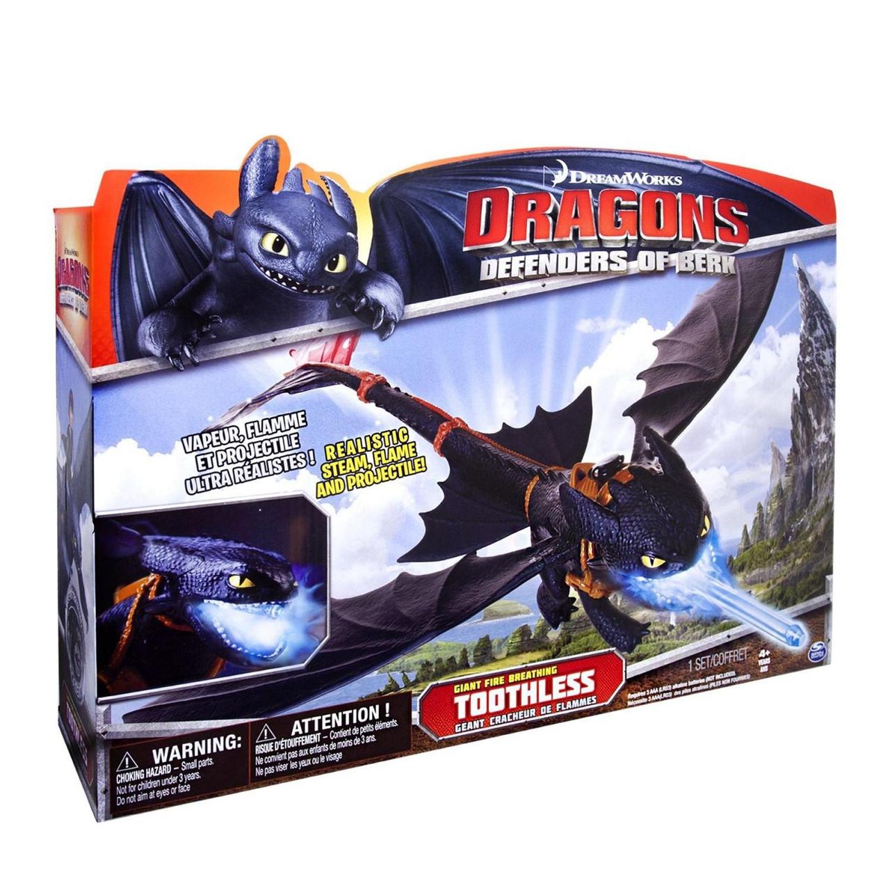 Дракон Беззубик Ночная фурия DreamWorks Dragons (Spin Master США) -  Интернет- магазин