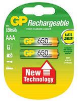 Аккумулятор GP R03 AAA 650 mAh Ni-MH
