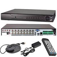Видеорегистратор HVR NVR DVR TVPSii ADVR7016DA-GL, 5МП, 16