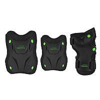 Комплект защитный Nils Extreme H407 Size XL Black/Green