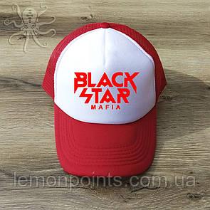 Кепка мужская спортивная Black Star K128 красная