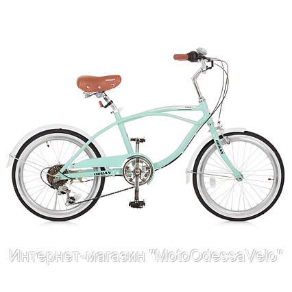 Велосипед детский PROF1 20 Д. G20URBAN A20.1 мятный, фото 2