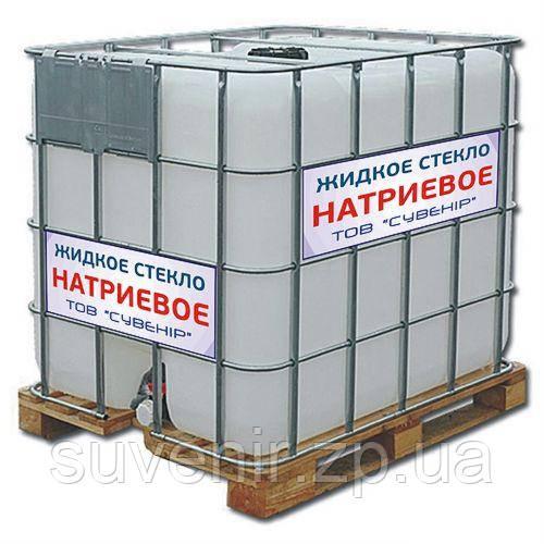 Жидкое стекло натриевое — купить с доставкой по Украине
