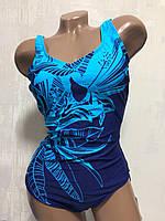 Купальник женский совместный. Polovi. 1823 голубой, фото 1