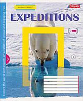"""Тетрадь 18 листов. линия """"Expeditions"""""""