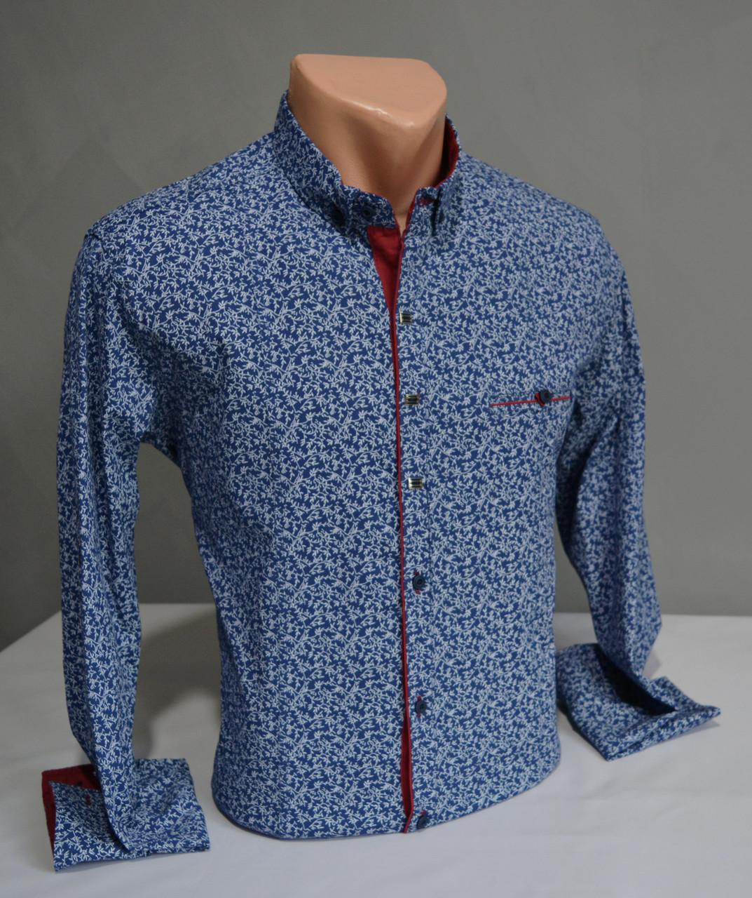 0c3c50c0b68 Мужская рубашка G-port с узором  продажа