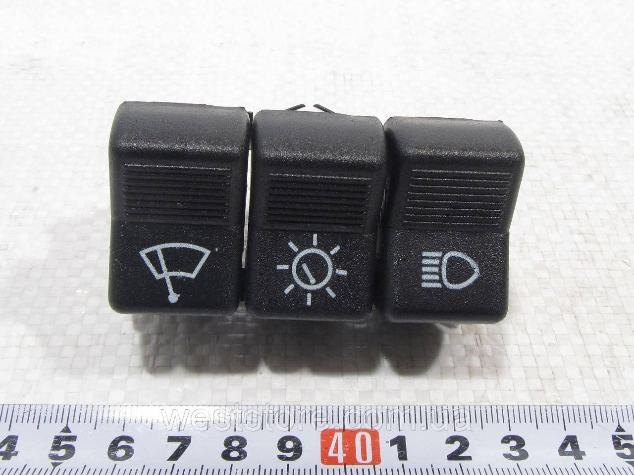 Блок кнопок-пианино (3 шт) П 134 Ваз 2101