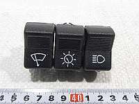 Блок кнопок-пианино (3 шт) П 134 Ваз 2101, фото 1