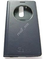 Темно-синий чехол Quick Circle для смартфона LG G3 s D724 (G3 mini) d722, фото 1