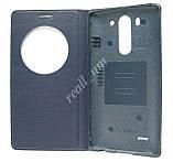 Темно-синий чехол Quick Circle для смартфона LG G3 s D724 (G3 mini) d722, фото 3