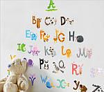 Інтер'єрна наклейка - Англійський алфавіт (100х140см), фото 3