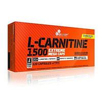 L-Карнітин L-Carnitine 1500 Extreme Mega Caps Olimp Labs 120 капсул