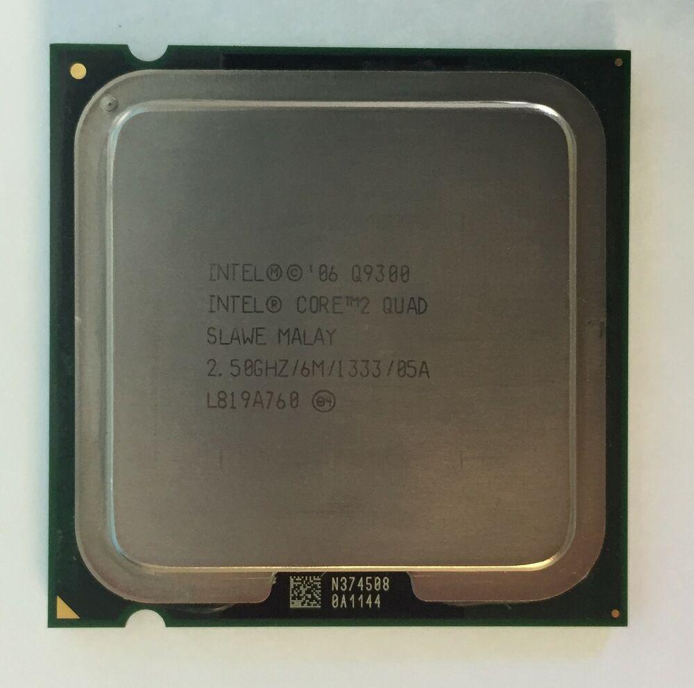 Процессор Intel Core 2 Quad Q9300 2.5GHz/6M/1333 (SLAWE) s775, tray