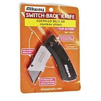 Складной нож  с выдвижным лезвием ALLWAY