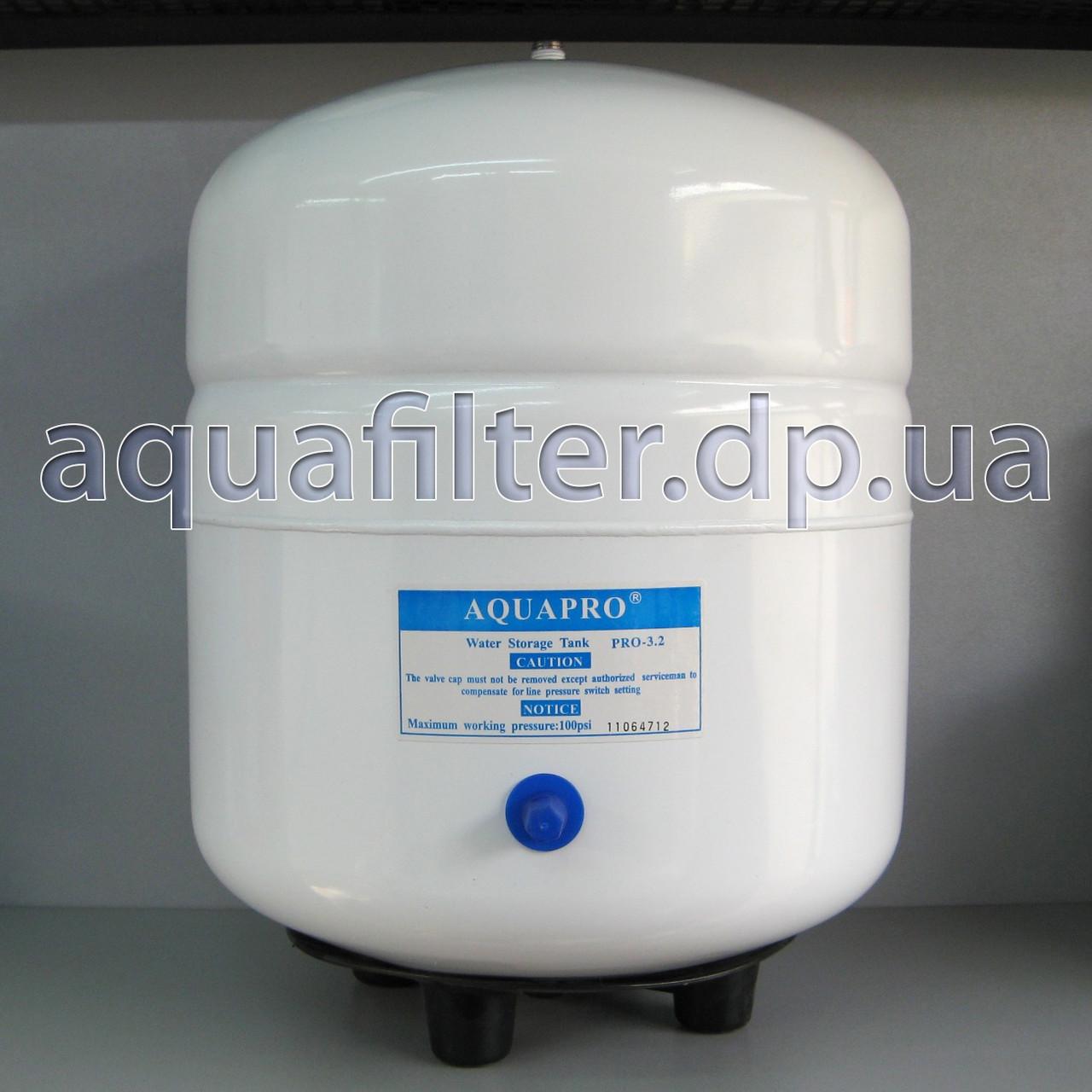 Накопительный бак для осмоса AQUAPRO PRO-3.2 12 литров