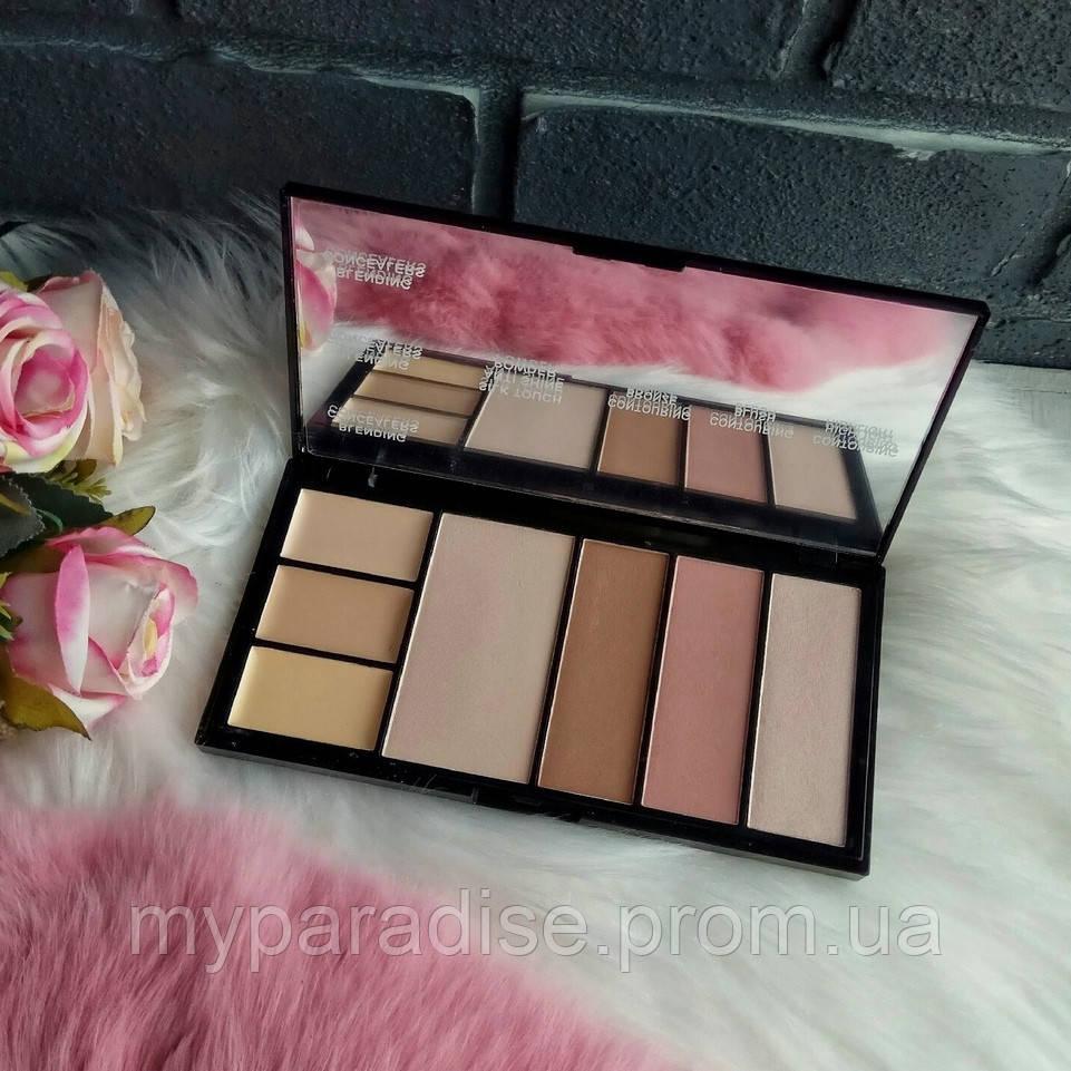 Палитра для коррекции лица Malva Cosmetics Protection Palette