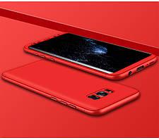 Чехол GKK 360 для Samsung S8 Plus / G955 бампер накладка Red