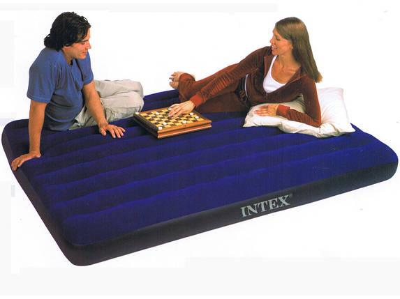 Надувной полуторный матрас Intex 68758 , фото 2