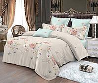 Двуспальный комплект постельного белья 180*220 сатин (10583) TM КРИСПОЛ Украина