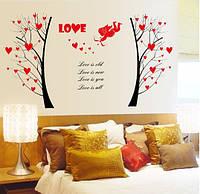 Интерьерная наклейка - Love  (130х67см)
