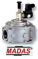 Электромагнитный клапан нормально открытый Madas резьба DN 50 6 bar