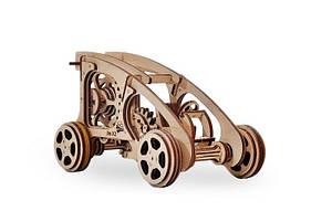 3D деревянный сборный механический конструктор Wood Trick Багги 129873