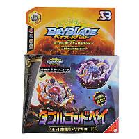 Beyblade Бейблейд Волчок Трансформер Солнце и Луна B00 с пистолетом 132868