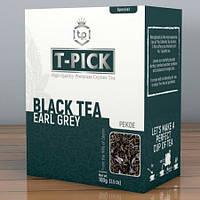 Черный крупнолистовой цейлонский чай T-PICK PEKOE EARL GREY (Ти-Пик Пекое с Бергамотом) 100г
