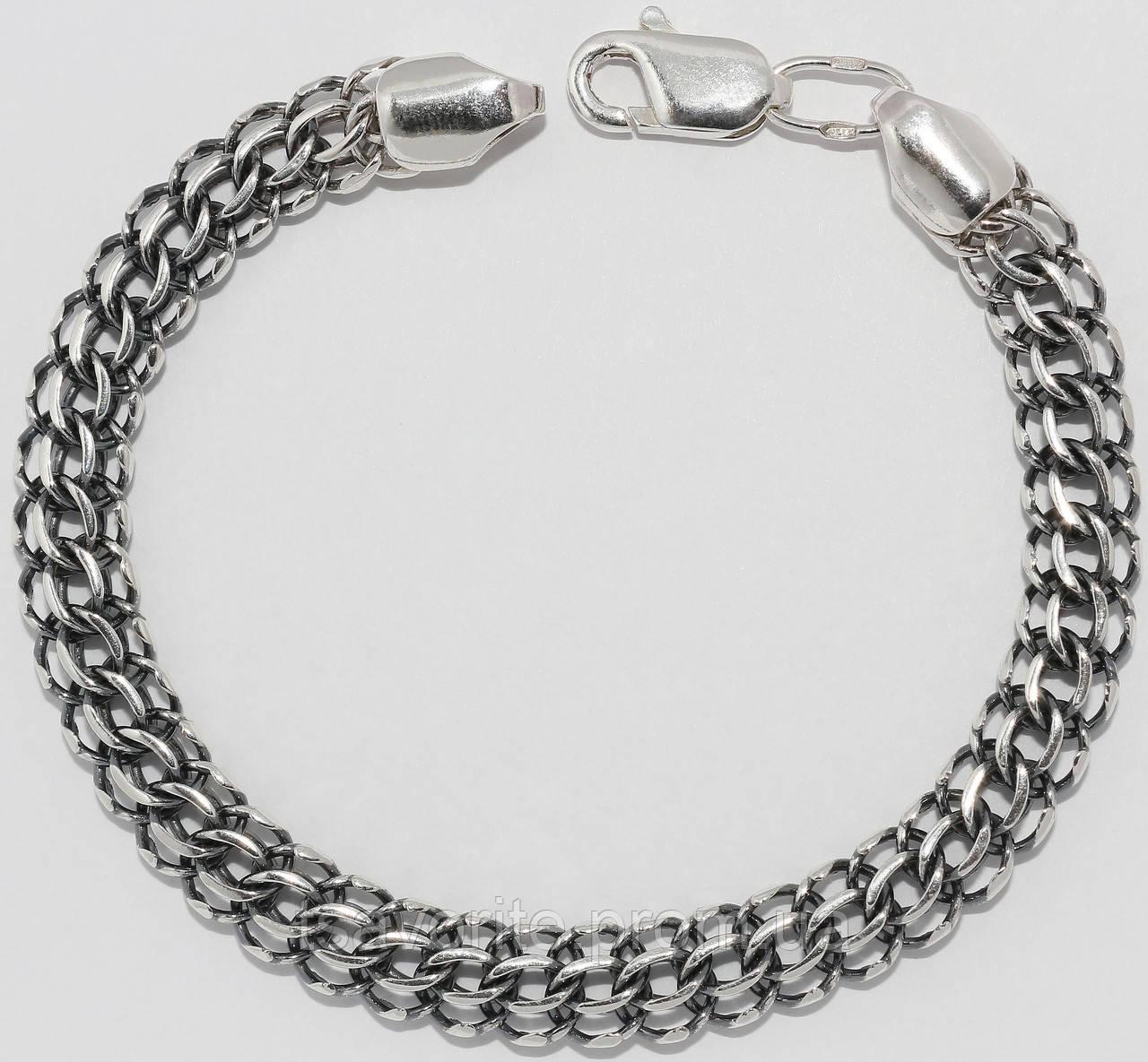 Серебряный браслет 5100259-Ч