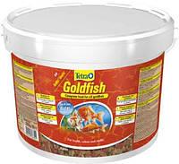 Корм для золотых рыбок Тетра  Tetra GOLD FISH 10L /2,05 кг хлопья для золотых рыбок