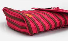 Рюкзак ZIPPER, цвет Fuchsia & Deep Brown (фуксия), фото 3