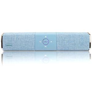 Беспроводная портативная Bluetooth колонка Hopestar A3 голубая 140056