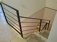 Перила из металла в стиле Лофт, Хай-Тек, фото 1