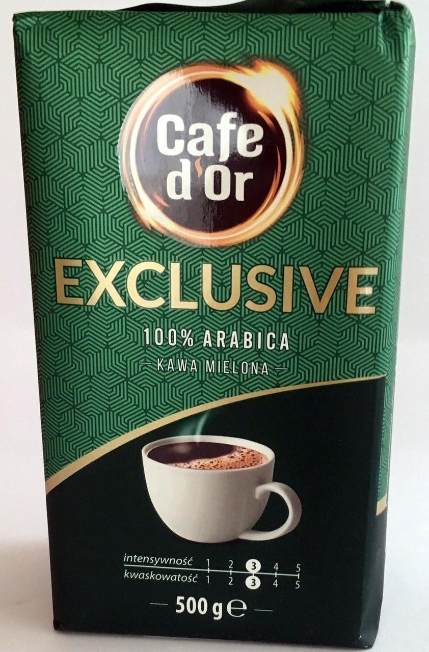 Молотый кофе Cafe d`Or Exclusive, 500г. Польша