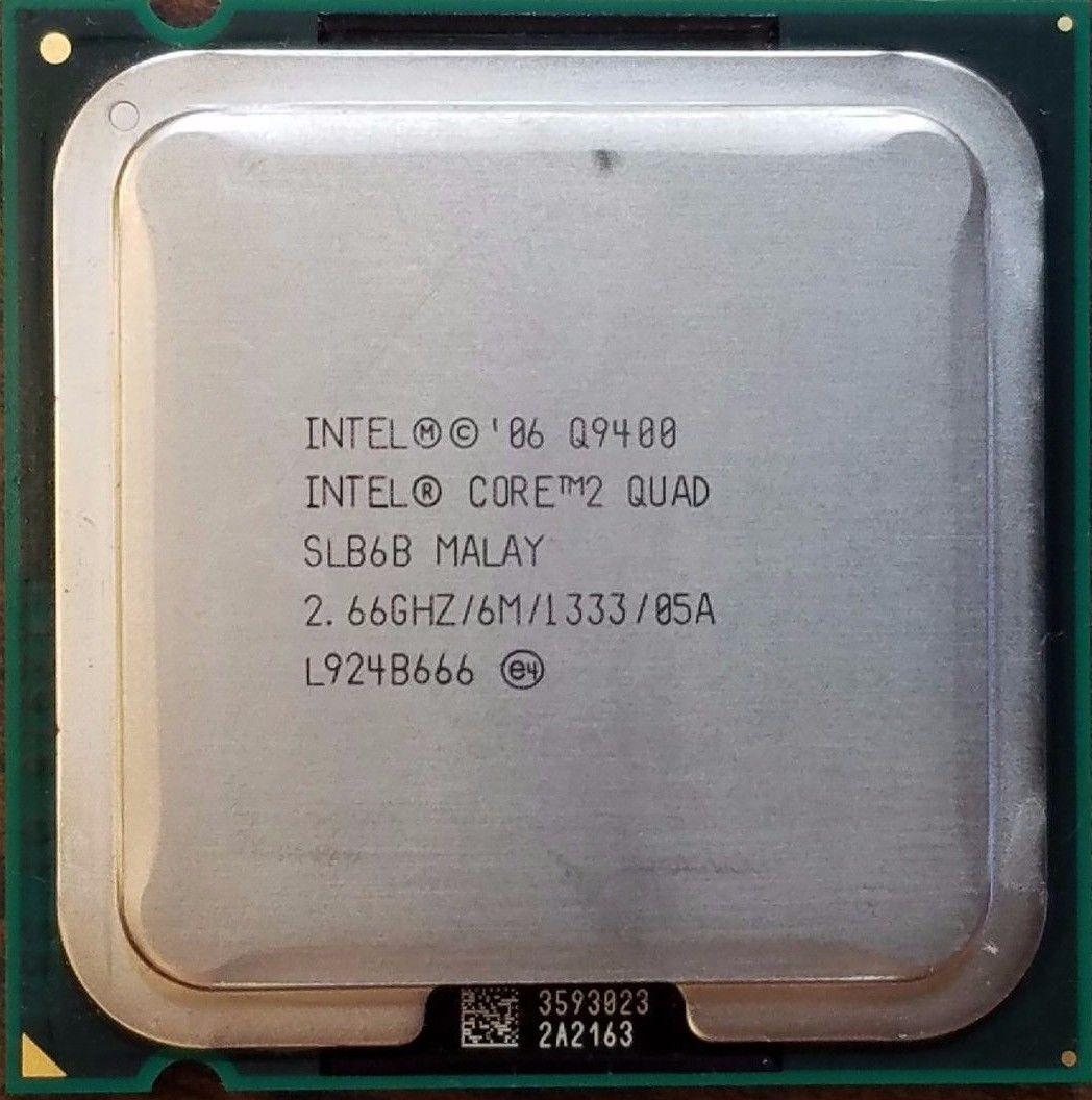 Процессор Intel Core2 Quad Q9400 2.66GHz/6M/1333 (SLB6B) s775, tray