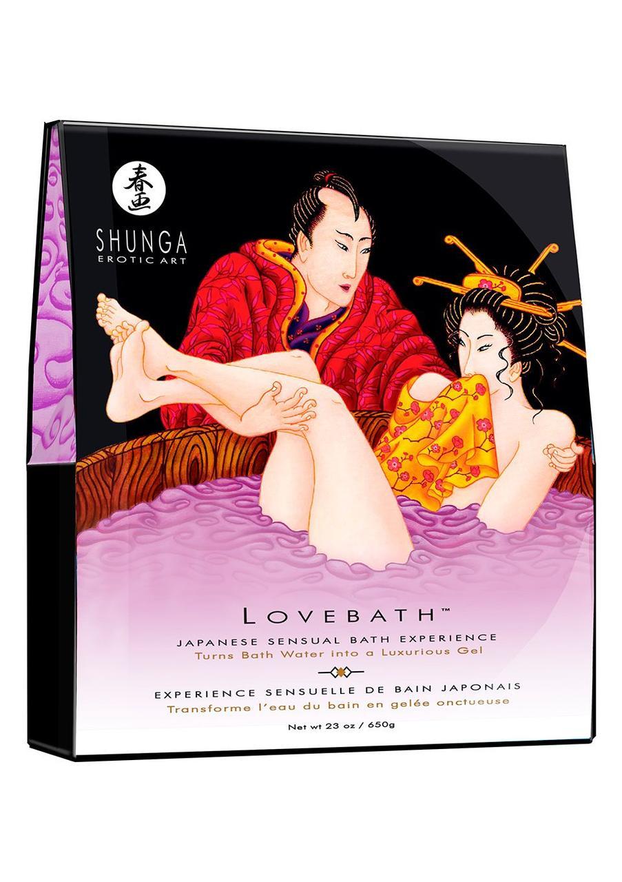 Гель для ванны Shunga LOVEBATH - Sensual Lotus (650 гр)