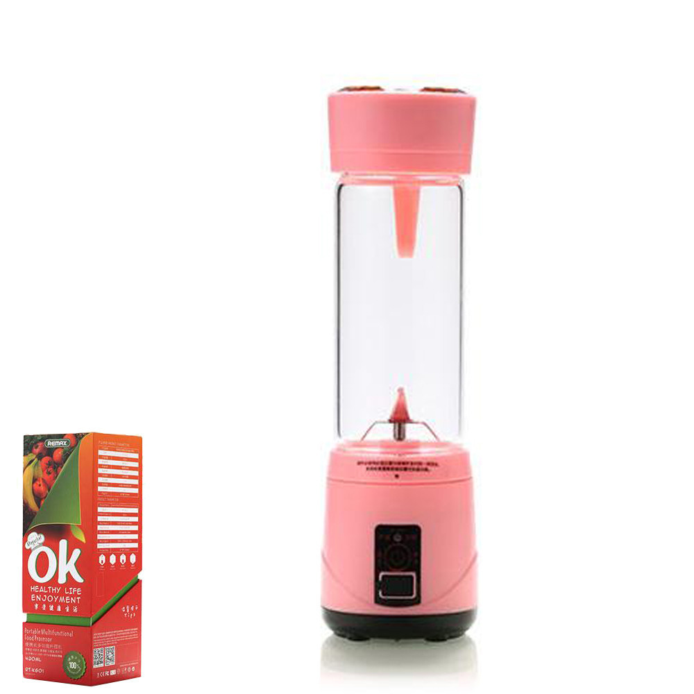 Блендер Remax Juicy cup RT-KG01 Pink